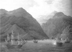 Н.Г. Чернецов. Крепость Гагры в 1837 году