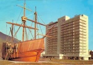 Гостиница Абхазия и Каравелла в Гагре