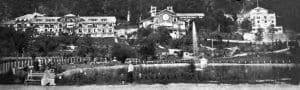 """""""Гагрипш""""- Новая гостиница. Фото 1905 г."""