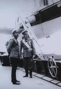 Николай II в Гагре