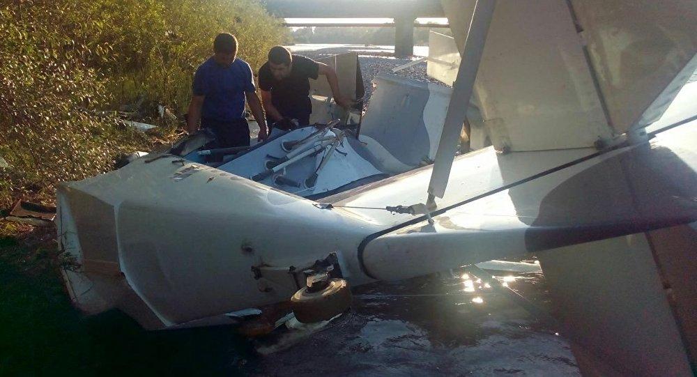 Падение самолёта в Пицунде