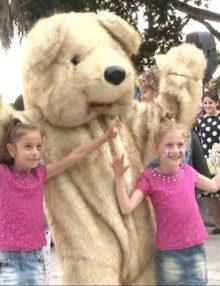 1 июня в Гагрском парке им. принца Ольденбургского прошло  развлекательное мероприятие, посвященное Дню защиты детей