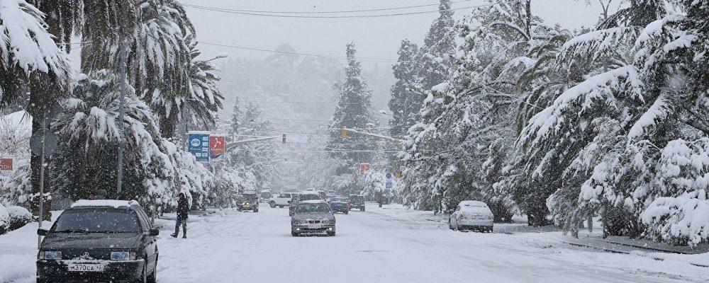 Ликвидацией последствий снегопада в Абхазии будет руководить оперштаб