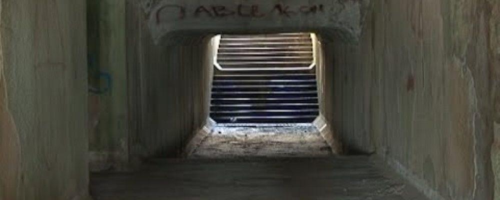 В Гагре в подземном переходе на площади имени Энвера Капба похищено сорок метров электропроводов