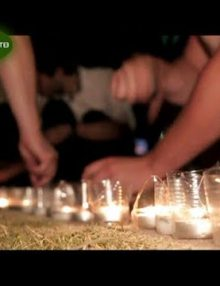 14 августа в Гагре прошла акция Свеча памяти — память погибших воинов в ходе Отечественной войны народа Абхазии