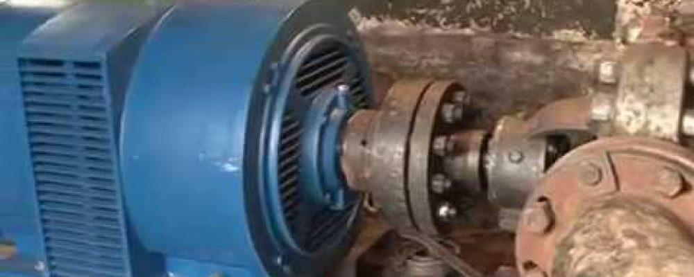 На насосной станции Родник произведена замена насоса