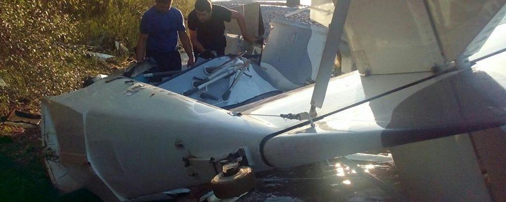 Три человека погибли в авиакатастрофе в Пицунде