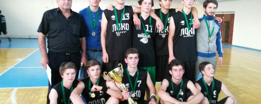 Мужская сборная Гагрского района по баскетболу победила в 13-ой Республиканской Спартакиаде