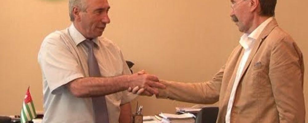 Глава муниципального образования города Черкесск Карачаево-Черкесской Республики Евгений Беланов посетил Гагру