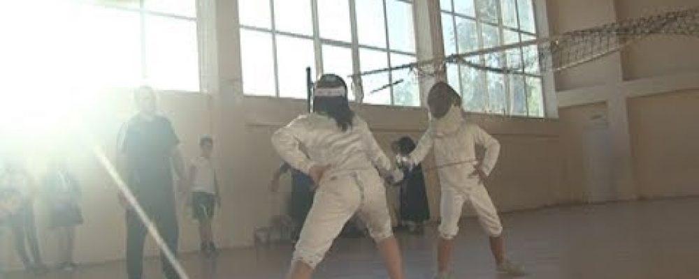В Гагре впервые за 25 лет открылась секция по фехтованию