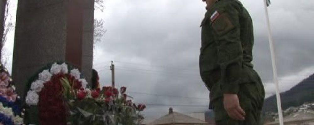 16 марта  в Гагре почтили память воинов, погибших в ходе мартовского наступления 1993 года