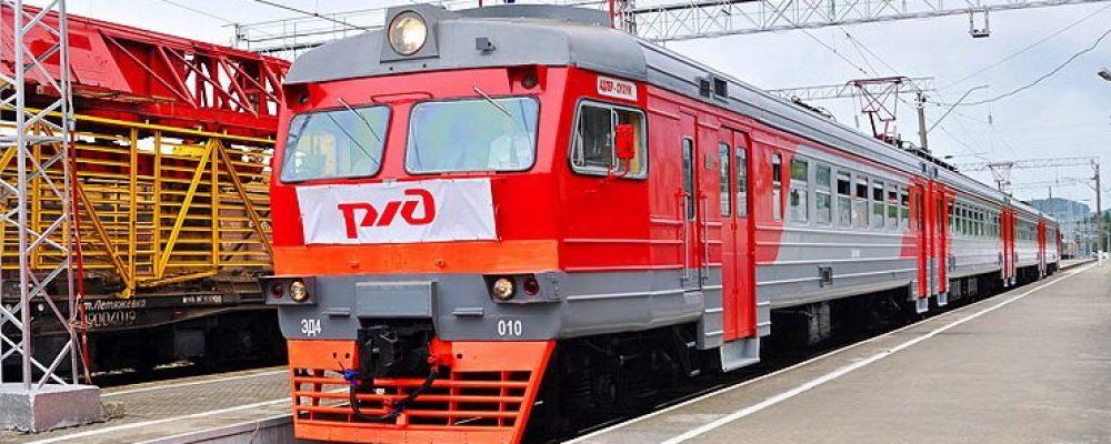 Электропоезд между Россией и Абхазией