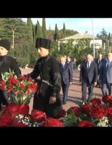 К 25-летию освобождения Гагрского района в Гагре прошли праздничные мероприятия