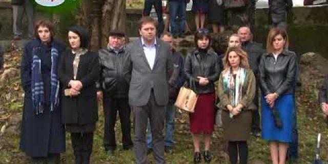 30 октября в Гагре почтили память погибших в сталинских лагерях в годы политических репрессий