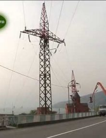 РУП Черноморэнерго проводит ремонтные работы на подстанции Гагра-1