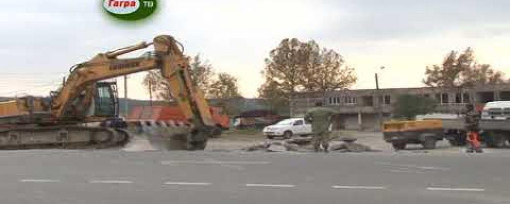 Дорожный фонд Абхазии проводит ремонтно-восстановительные работы в поселке Бзыпта.
