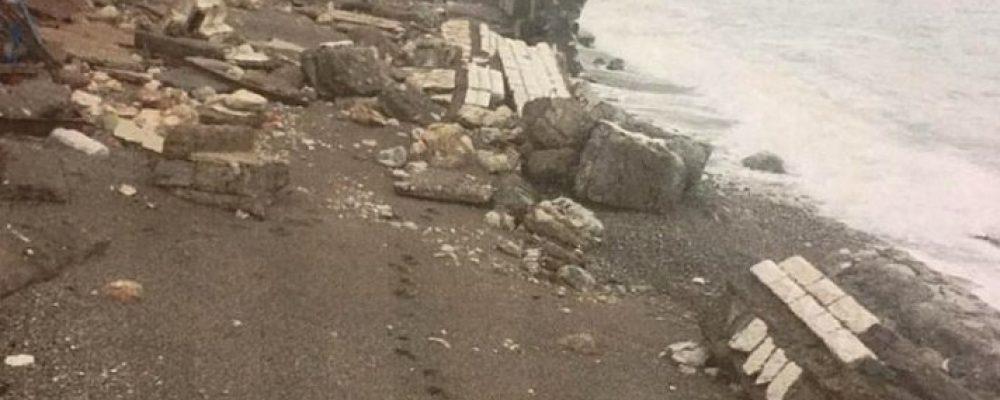 На восстановление берегоукрепительной стены в Гагре необходимо 50 миллионов рублей