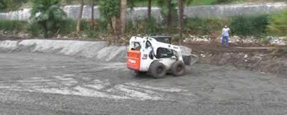 В Гагре начались работы по восстановлению Приморского парка