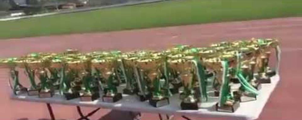 В селе Алахадзых прошло районное соревнование по легкой атлетике
