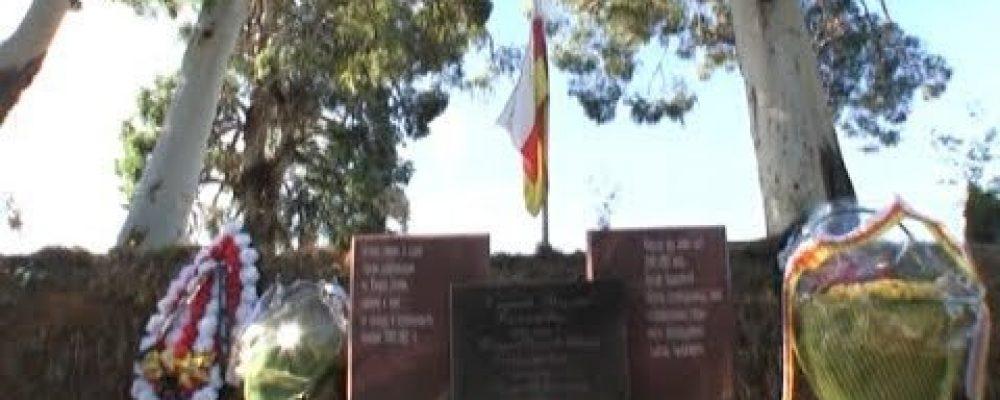 30 сентября в селе Псахара ветераны войны, руководство Гагрского района и сельская администрация возложили цветы к памятникам погибших бойцов