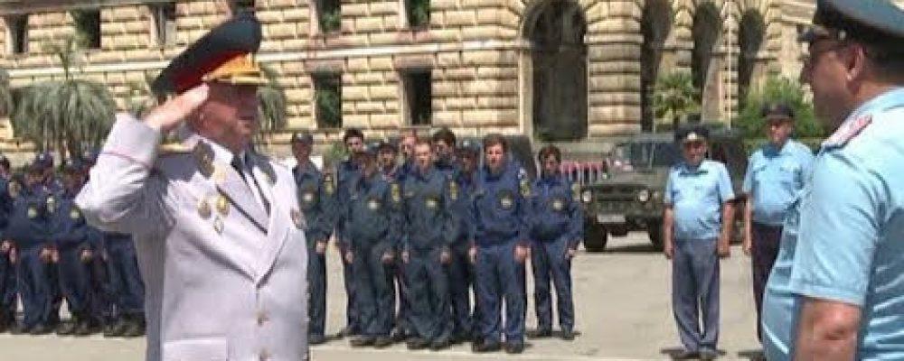 4 июля в Абхазии отмечался день МЧС