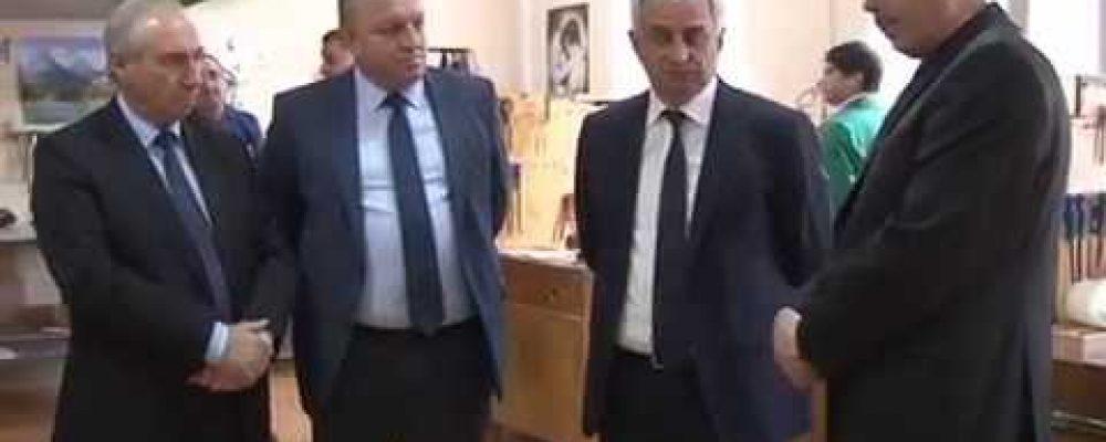 Президент Абхазии Рауль Хаджимба побывал с рабочим визитом в Гагре