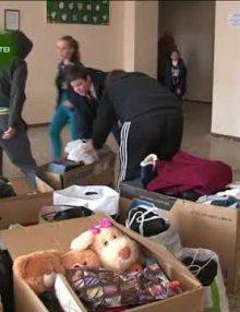 Школы Гагрского района оказали гуманитарную помощь благотворительной общественной организации Киараз