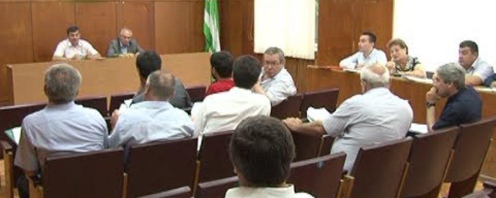 В Гагре состоялось очередное заседание депутатов районного Собрания
