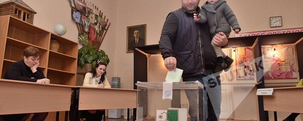 В 8 утра по всей Абхазии открылись избирательные участки