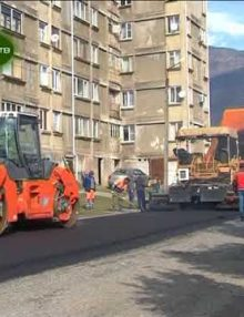 Дорожно строительные работы ведутся в микрорайоне Аспа  поселка Бзыпта