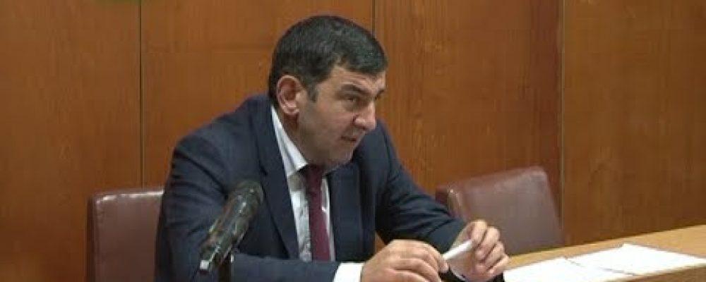 Состоялось первое в 2018 году  заседание  депутатов Собрания Гагрского района