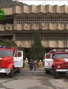 В Гагре прошли тактические занятия для личного состава пожарно спасательной части №1