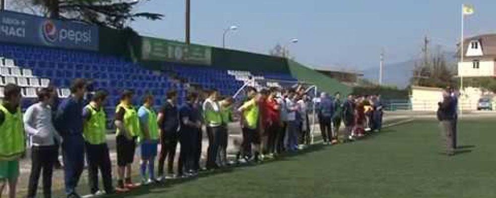 В Гагре прошли  товарищеские матчи по футболу за переходящий кубок Министерства внутренних дел Республики Абхазия